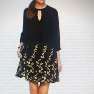 Gorgeous Gold Floral Dress